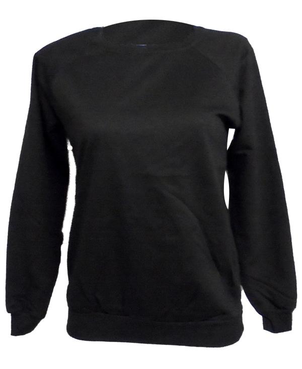2801390 Γυναικείο Φούτερ Με λαιμόκοψη Markize (AW18) ΜΑΥΡΟ αρχική γυναικεία ρουχα μπλούζες φθινόπωρο   χειμώνας