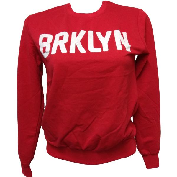 2520 ΜARKIZ ΜΠΛΟΥΖΑ BRKLN ΚΟΚΚΙΝΟ αρχική γυναικεία ρουχα μπλούζες φθινόπωρο   χειμώνας