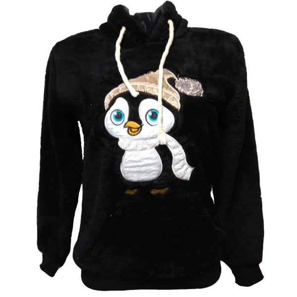 2527 MARKIZ ΜΠΛΟΥΖΑ SHEEP ΚΟΥΚΟΥΛΑ ΜΑΥΡΟ- ΠΙΓΚΟΥΙΝΟΣ αρχική γυναικεία ρουχα μπλούζες φθινόπωρο   χειμώνας