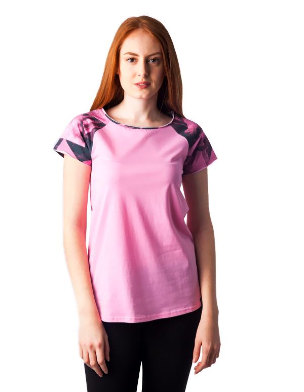 1118 Γυναικειο Tshirt Raglan PACO (ss18) αρχική μπλούζες άνοιξη   καλοκαίρι