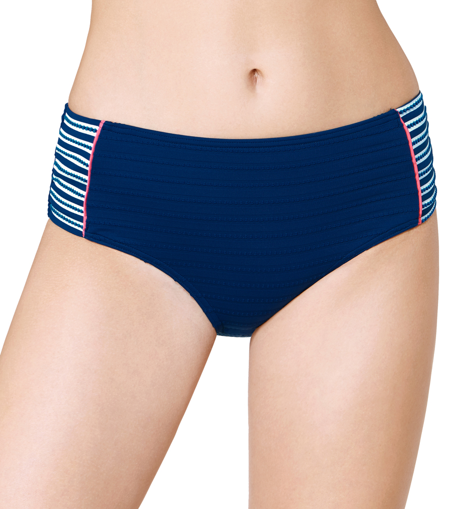 10187059 BIKINI BRIEF JETPLANE FLAIR MIDI 02 TRIUMPH (ss18) NAVY