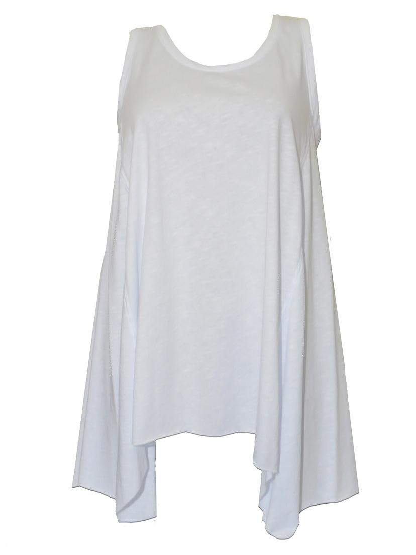 02-0655 Αμανικη Μπλουζα Χαλαρη Noobass ΑΣΠΡΟ