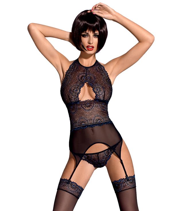 Oriens Corset&Thong Sexy Set αρχική γυναικεία εσώρουχα σέξυ συλλογή