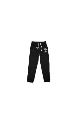 023425-02 BODY ACTION MEN RELAXED FIT PANTS ΜΑΥΡΟ