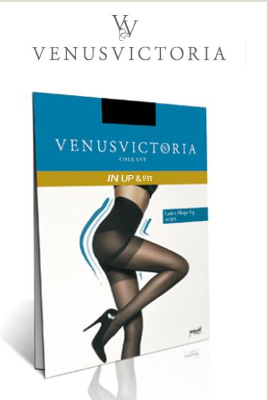 VC1105015 Venus Victoria In Up & Fit Bottom Up ΜΑΥΡΟ αρχική γυναικείες κάλτσες   καλσόν καλσόν v victoria legware